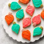 Frosted Cutout Sugar Cookies