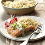 Garlic & Herb Artichoke Salmon