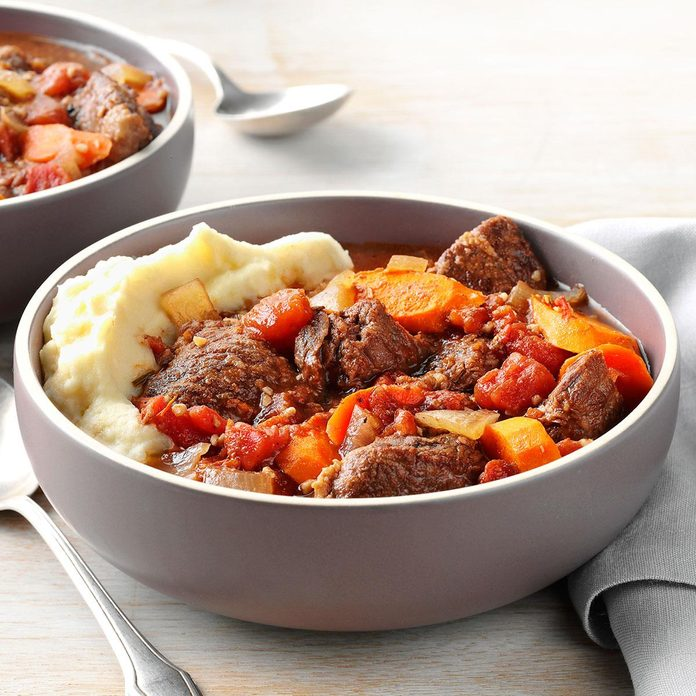 Garlic Lover's Beef Stew
