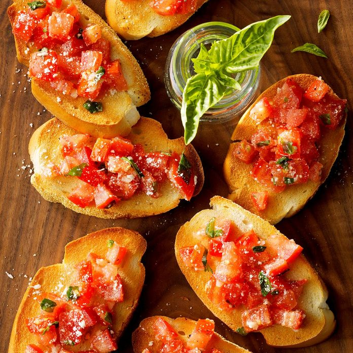 Inspired by: Maggianos Little Italys Tomato Bruschetta