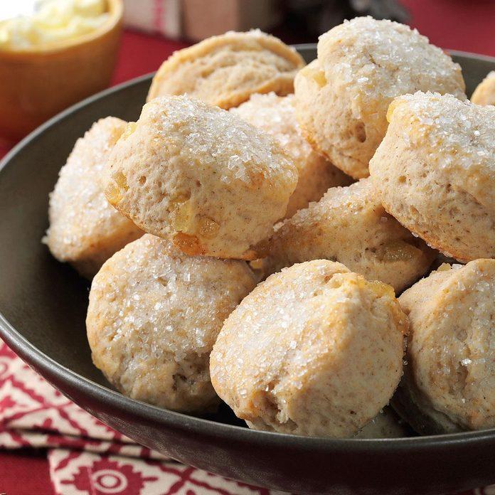 Ginger Buttermilk Biscuits