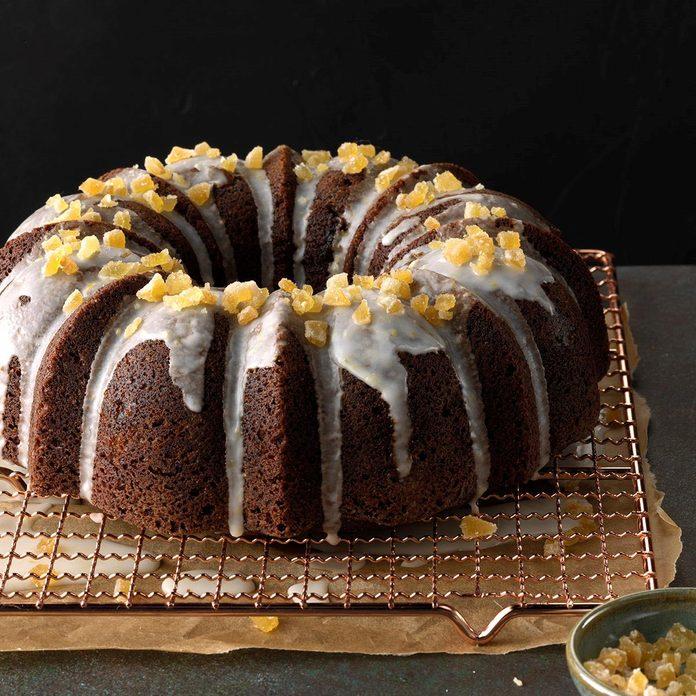 Ginger-Walnut Tube Cake