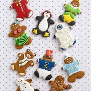 Gingerbread Cookie Cutouts