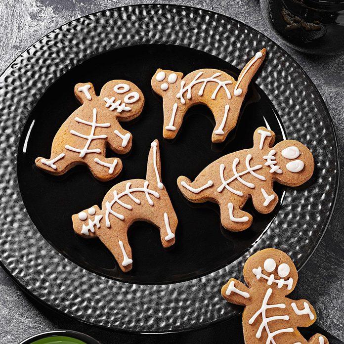 Gingerbread Skeletons