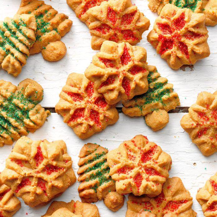 Confident Baker: Gingerbread Spritz