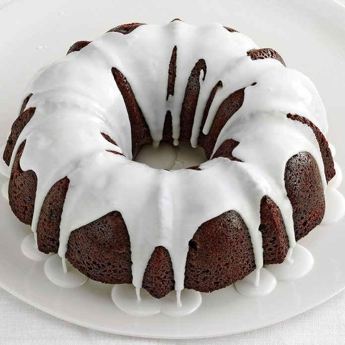 Glazed Gingerbread Cake