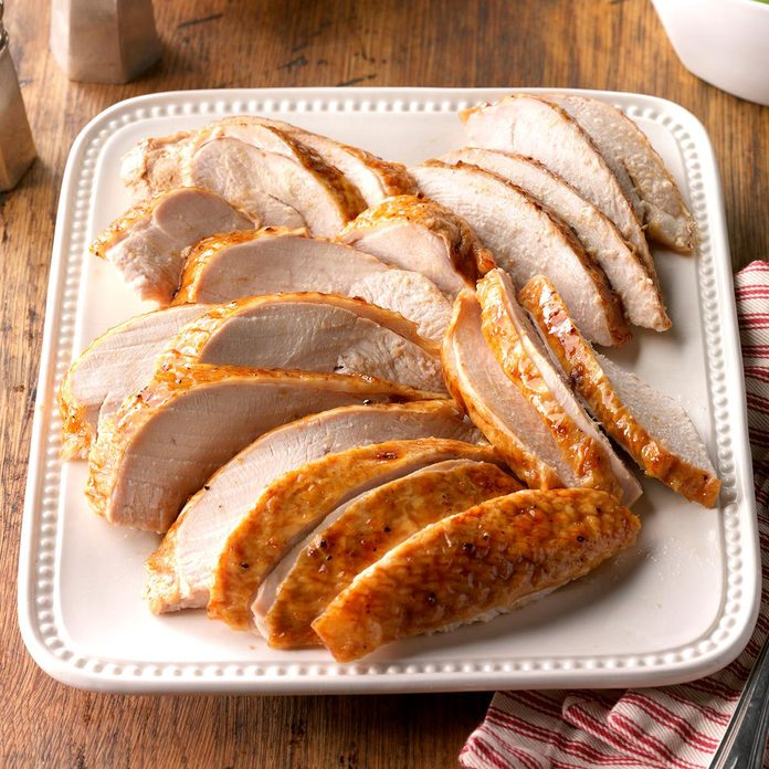 Day 30: Golden Apricot-Glazed Turkey Breast