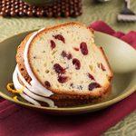 Grand Marnier Cranberry Pound Cake