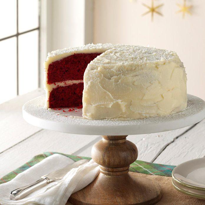 North Carolina: Grandma's Red Velvet Cake
