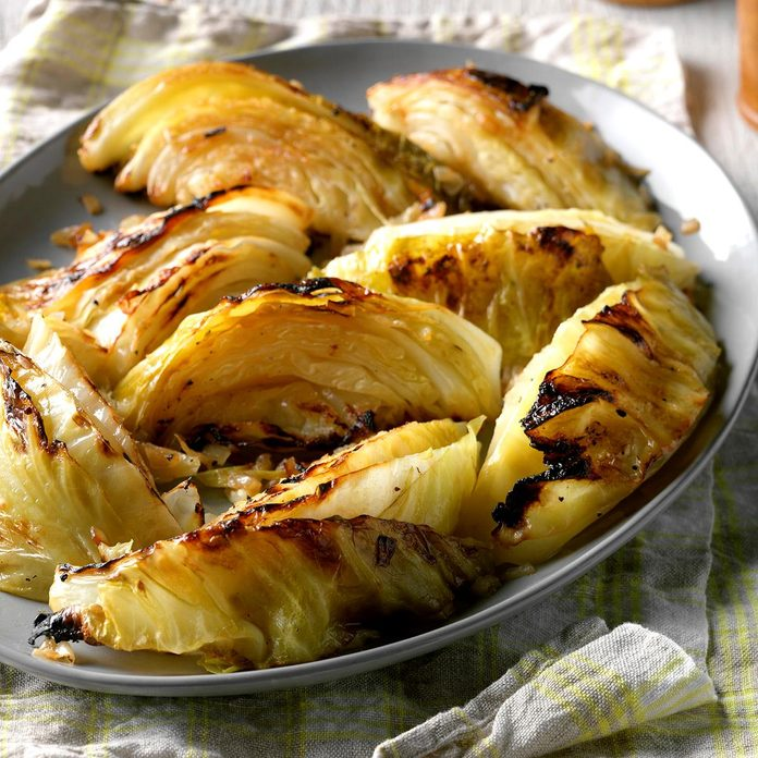 Ellie Martin Cliffe, Deputy Editor: Grilled Cabbage