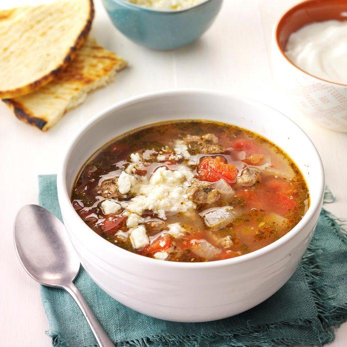 Gyro Soup