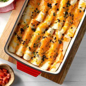 Halibut Enchiladas