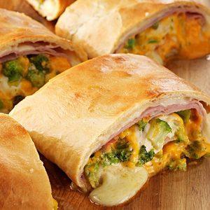 Ham 'N' Cheese Stromboli