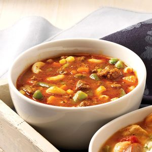 Hamburger Minestrone
