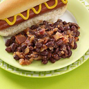 Hawaiian Barbecue Beans