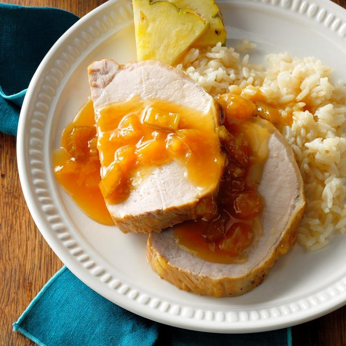 Hawaiian Pork Roast with Pineapple