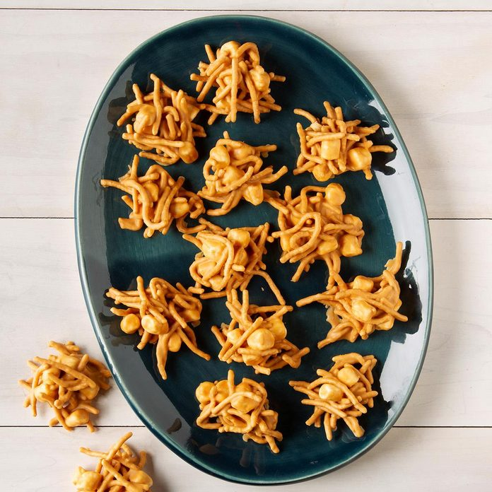 Haystack Cookies with Peanut Butter