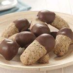 Hazelnut Espresso Fingers in Chocolate