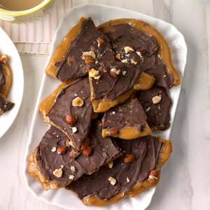 Hazelnut Toffee