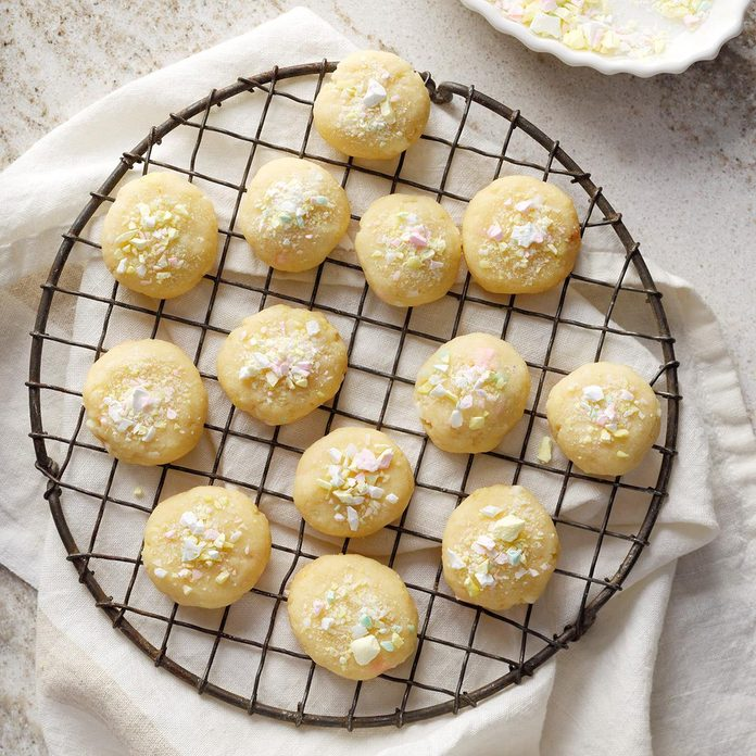 Budding Baker: Holiday Butter Mint Cookies