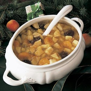 Holiday Fruit Soup