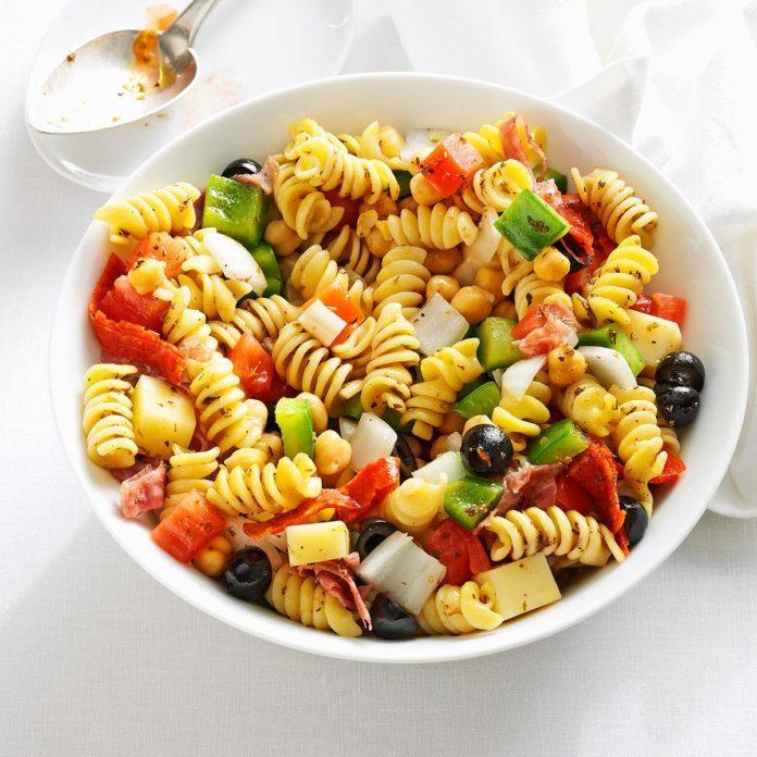 Homemade Antipasto Salad