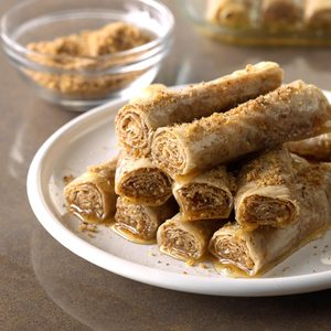 Honey Cinnamon Rollups
