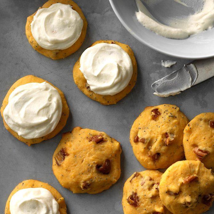 Honey-Date Pumpkin Cookies