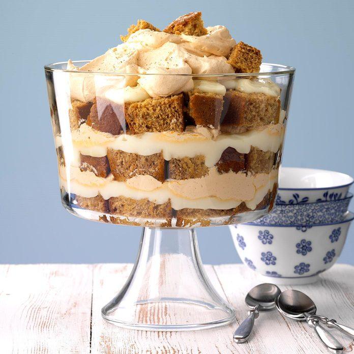 Honey Gingerbread Trifle