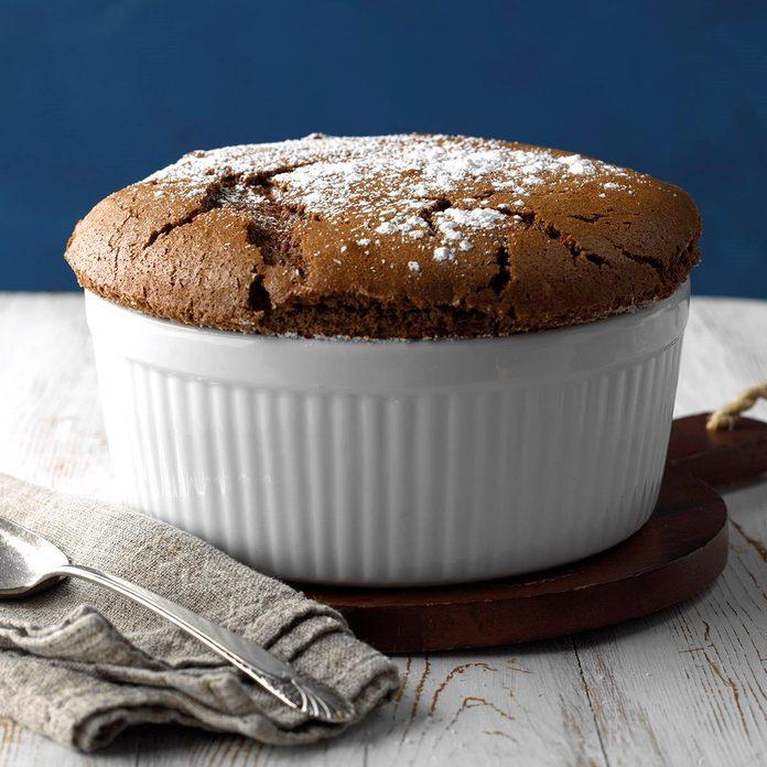 Hot Cocoa Souffle