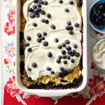Lemon Berry Dump Cake