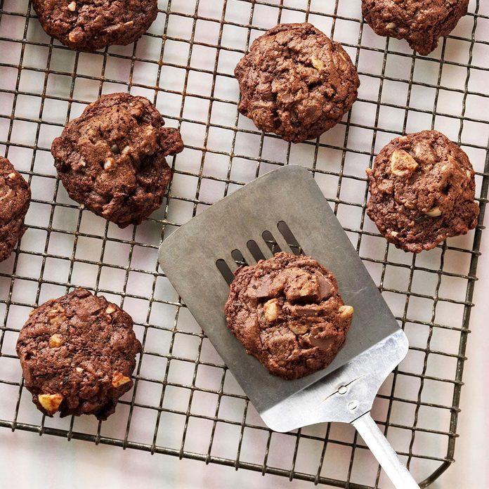 Macadamia-Coffee Bean Cookies