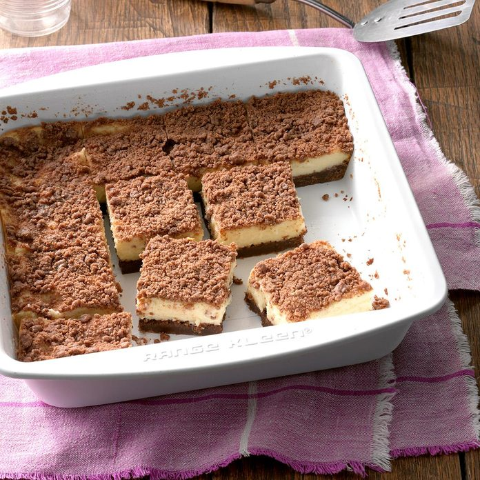 Makeover Cream Cheese Streusel Bars