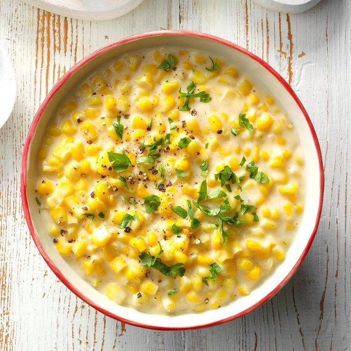 Makeover Creamed Corn