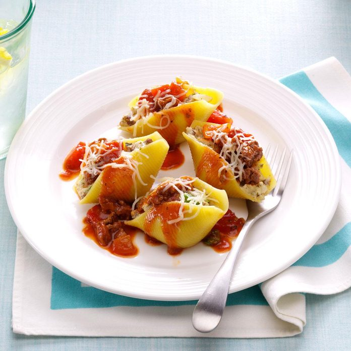 Makeover Easy Beef-Stuffed Shells