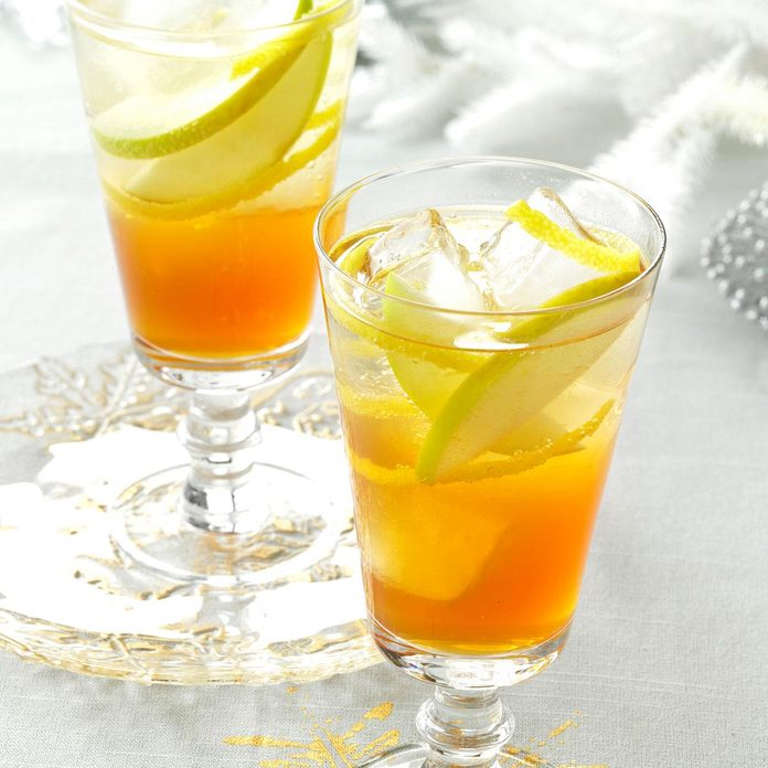 Maple Brandy Punch