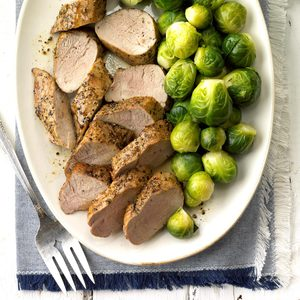 Maple-Glazed Pork Tenderloin