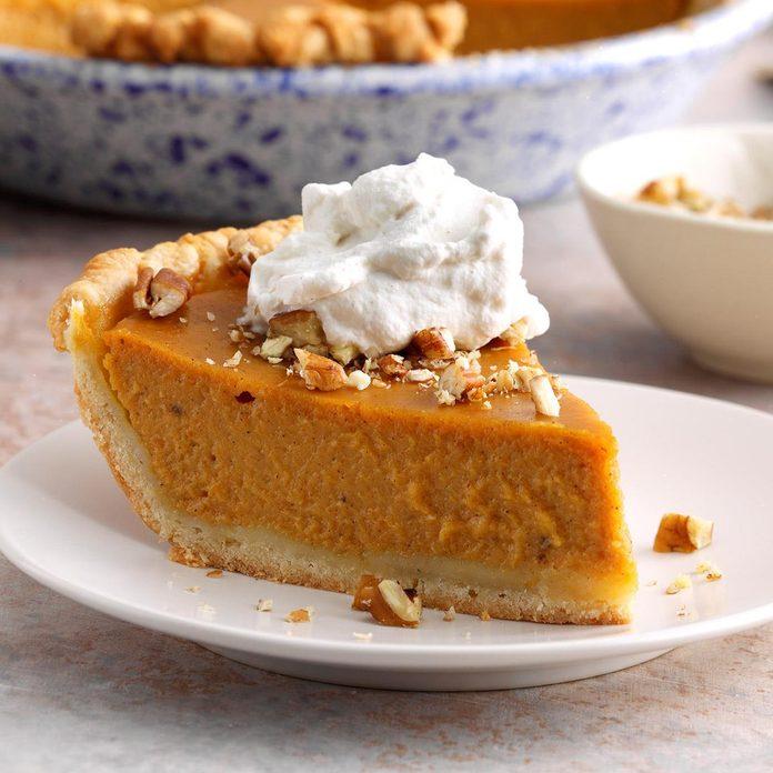 Maple Pumpkin Pie