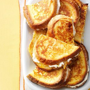 Marmalade French Toast Sandwiches