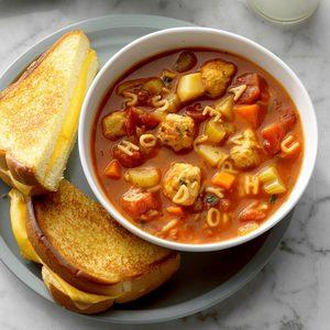 Meatball Alphabet Soup
