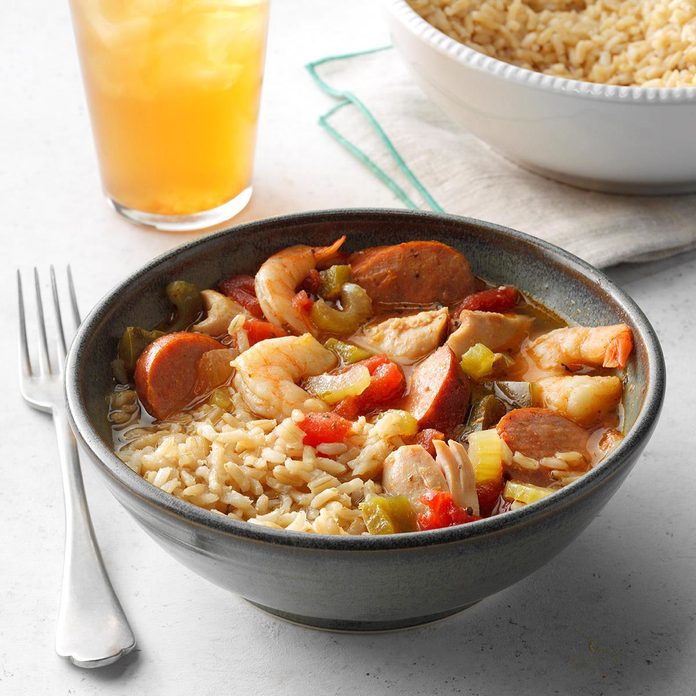 Meaty Slow-Cooked Jambalaya