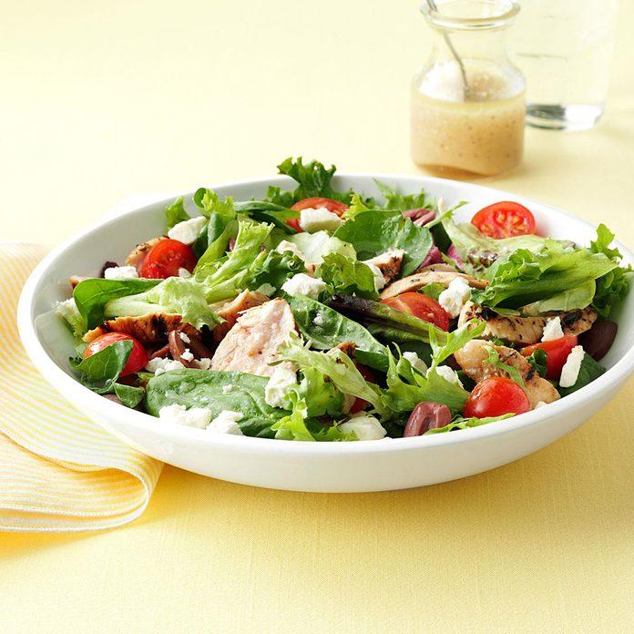 Mediterranean Grilled Chicken & Greens
