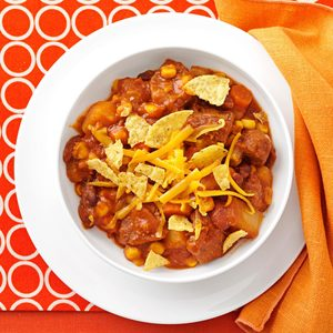 Mexican Beef & Bean Stew