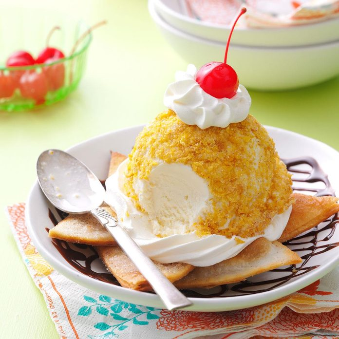 Mexican Ice Cream Sundaes