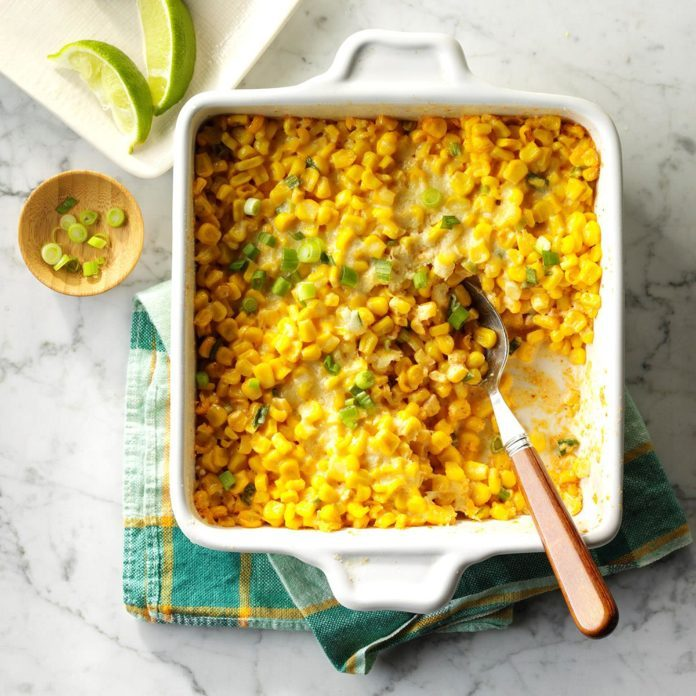 Mexican Street Corn Bake