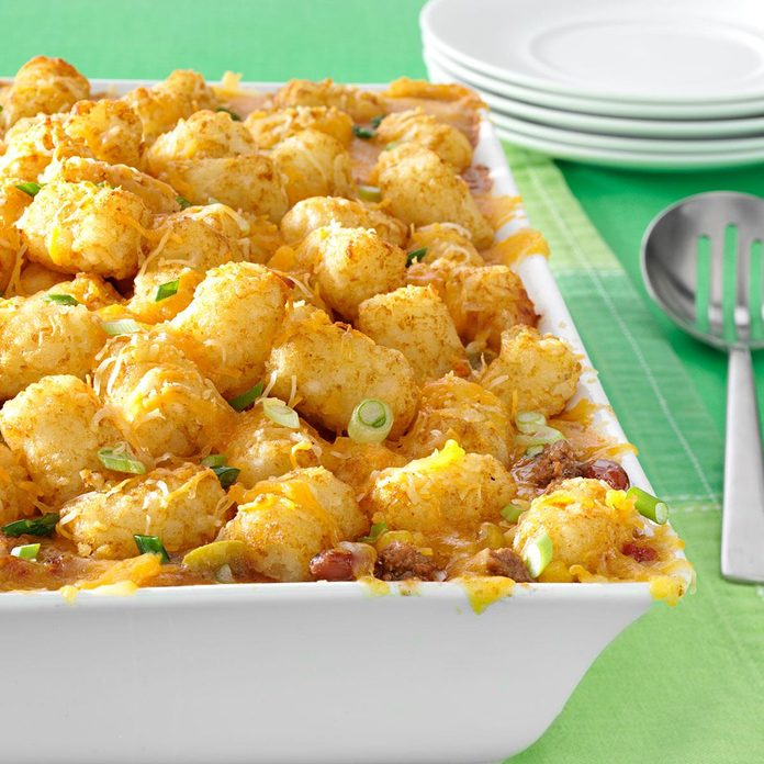 Mexican Tater-Topped Casserole