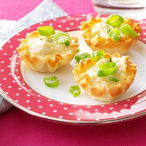 Mini Crab Tarts