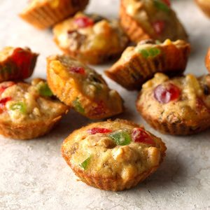 Mini Fruitcakes
