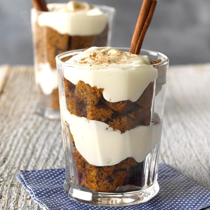 Mini Pumpkin Spice Trifles