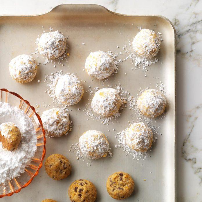 Mole New Mexican Wedding Cookies